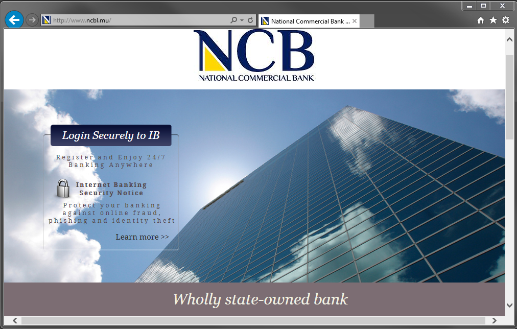 National Commercial Bank Extended Validation Ssl Certificate